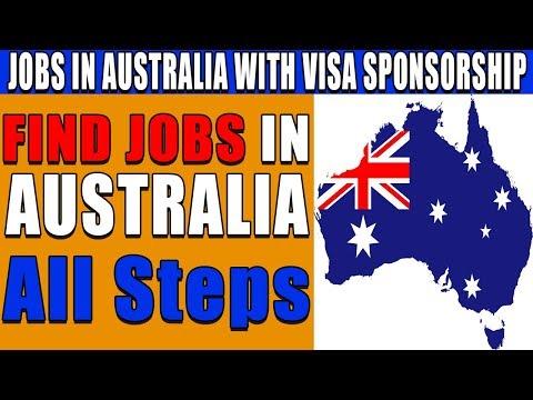 FIND JOBS IN AUSTRALIA WITH VISA SPONSORSHIP