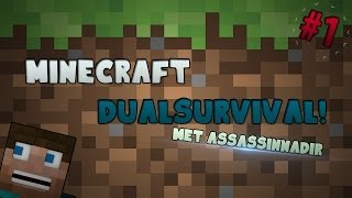 Minecraft Dual Survial #1