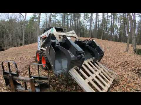 Buying a skid steer demo bucket