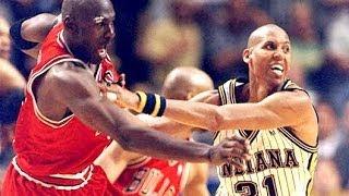 Bulls vs. Pacers - 1996 NBC game (Michael Jordan 44 points and Scottie Pippen 40 points)