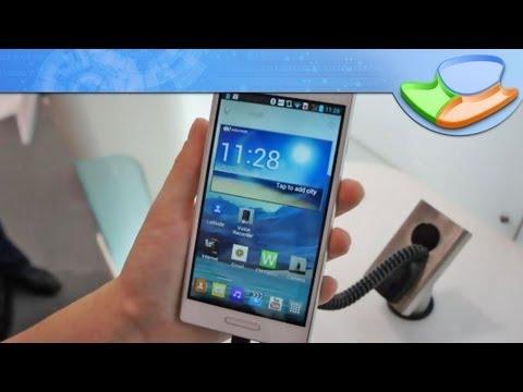 [IFA 2012] Primeiras impressões do LG Optimus L9 - Tecmundo