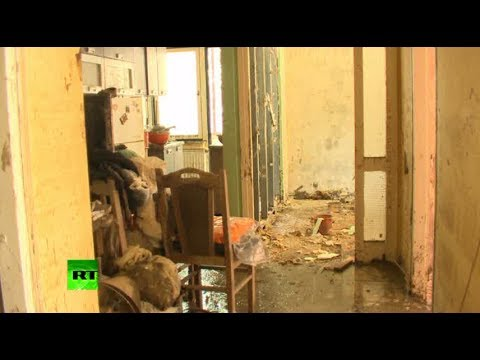 Video: Mess, mud & muck after catastrophic floods in Balkans