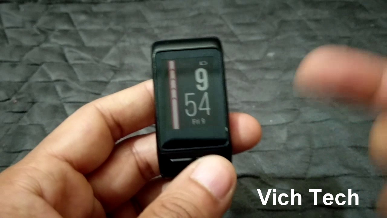 Vivoactive HR heart rate monitor accuracy