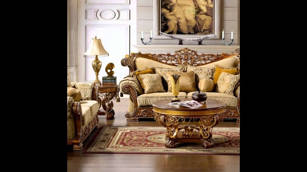 Classic Italian Living Room Interior Design, Classic Living Room Color Ideas