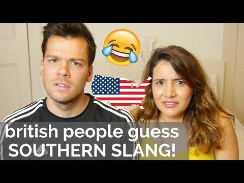 🇬🇧Brits Guess Southern Slang! 🇺🇸 | American vs British