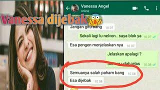 Gambar cover vanessa angel nge-whatsapp ||80jt