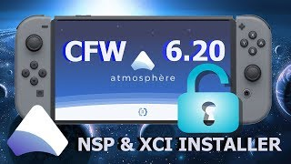 6.2.0 CFW ATMOSPHERE NINTENDO SWITCH TESTADO