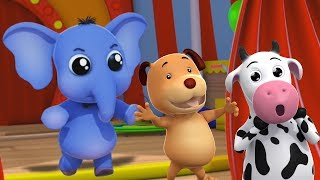 Eeny Meeny Miny Moe | Deutsch Kinderlied | Lied für Babys | Preschool Song | Nursery Rhymes