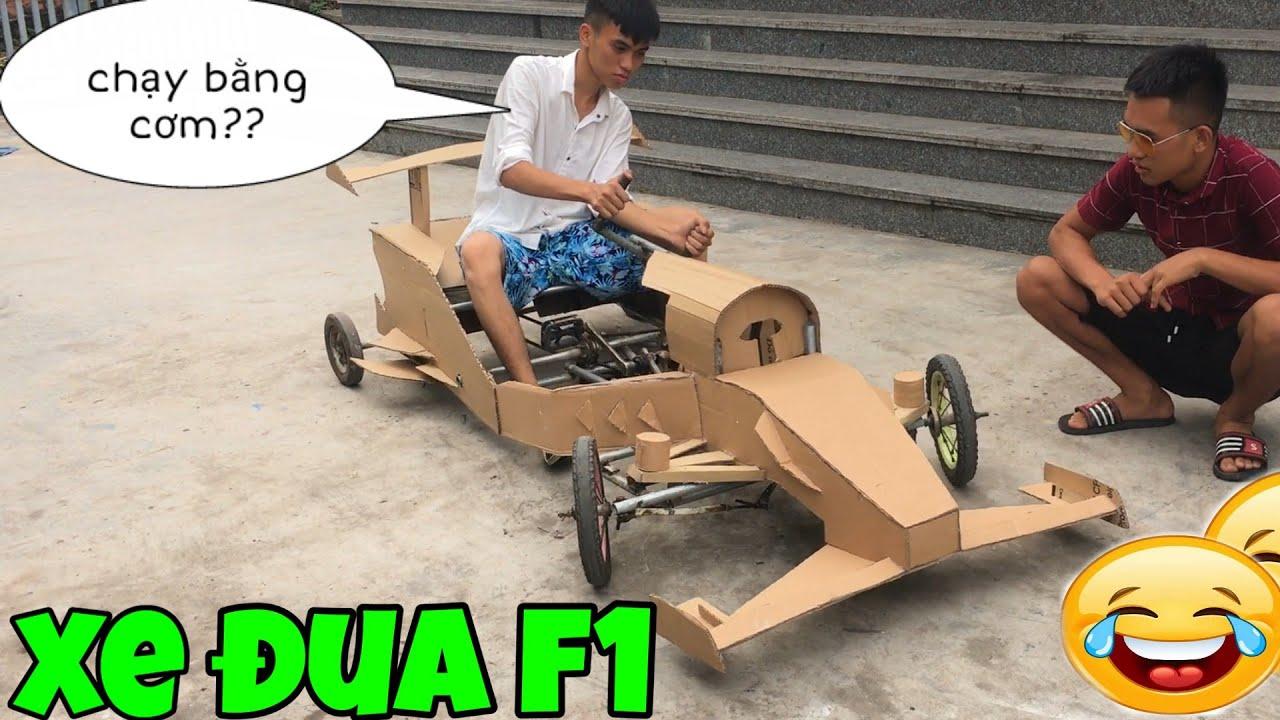 Chế tạo xe đua F1 từ xe đạp cũ 😂 ( making F1 racing supercar from bicycle)