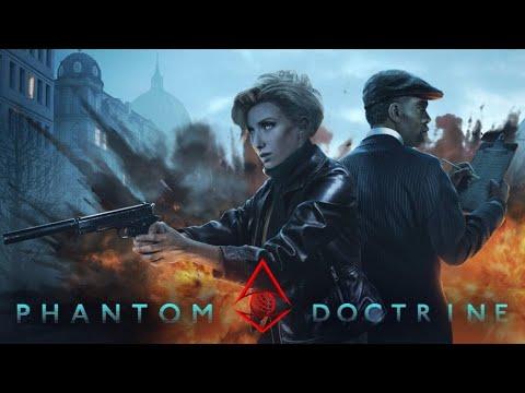 Phantom Doctrine Gameplay | Espionage Strategic Turn-Based Game ! |