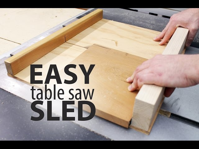 Easy table saw sled 16 steps with pictures keyboard keysfo Images