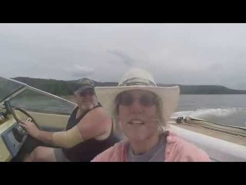 Boating at Fairfield Bay and Greers Ferry Lake, Arkansas
