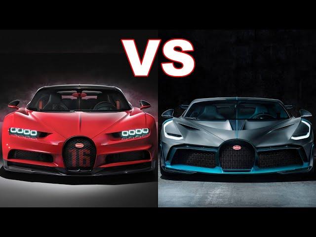 Bugatti Divo vs Bugatti Chiron Sport. | $5.8-Million vs $3-Million.