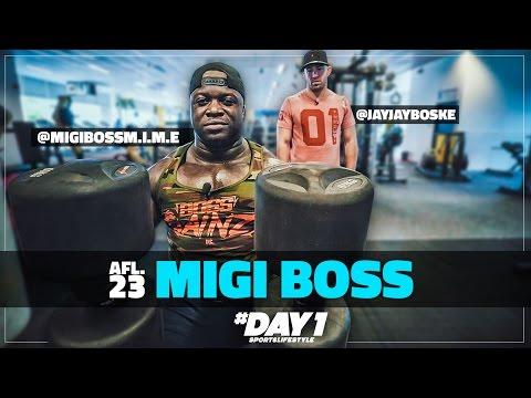 200KG SQUATS RECORD!!! met Migi Boss || #DAY1 Afl. #23