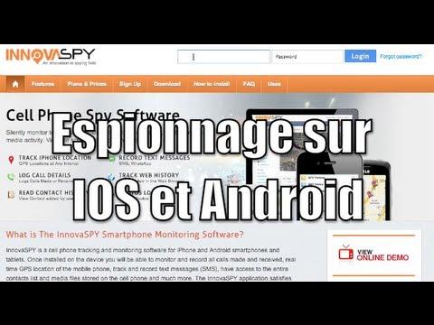 Le meilleur logiciel despionnage 100% professionnel pour iPhone, iPod Touch et iPad IOS et ANDROID