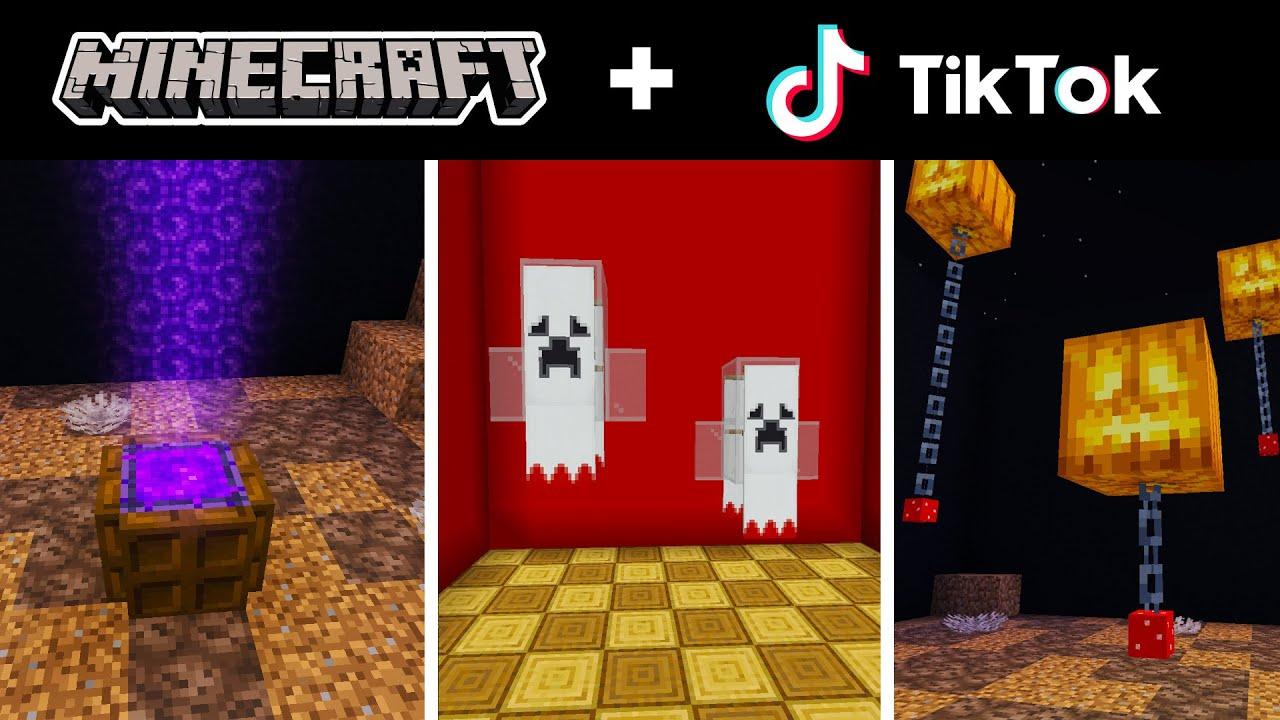 Minecraft Tik Tok Compilation 27