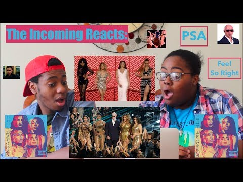 PSA, FEEL SO RIGHT, POR FAVOR LIVE & MUSIC VIDEO | REACTION