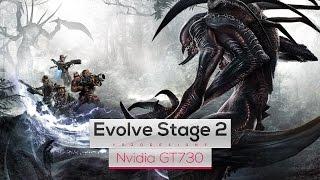 Evolve Stage 2 on Intel Core 2 Quad Q8400 & Nvidia GT730
