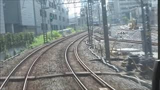 東武スカイツリーライン曳舟~とうきょうスカイツリー間工事区間前面展望 2019.7