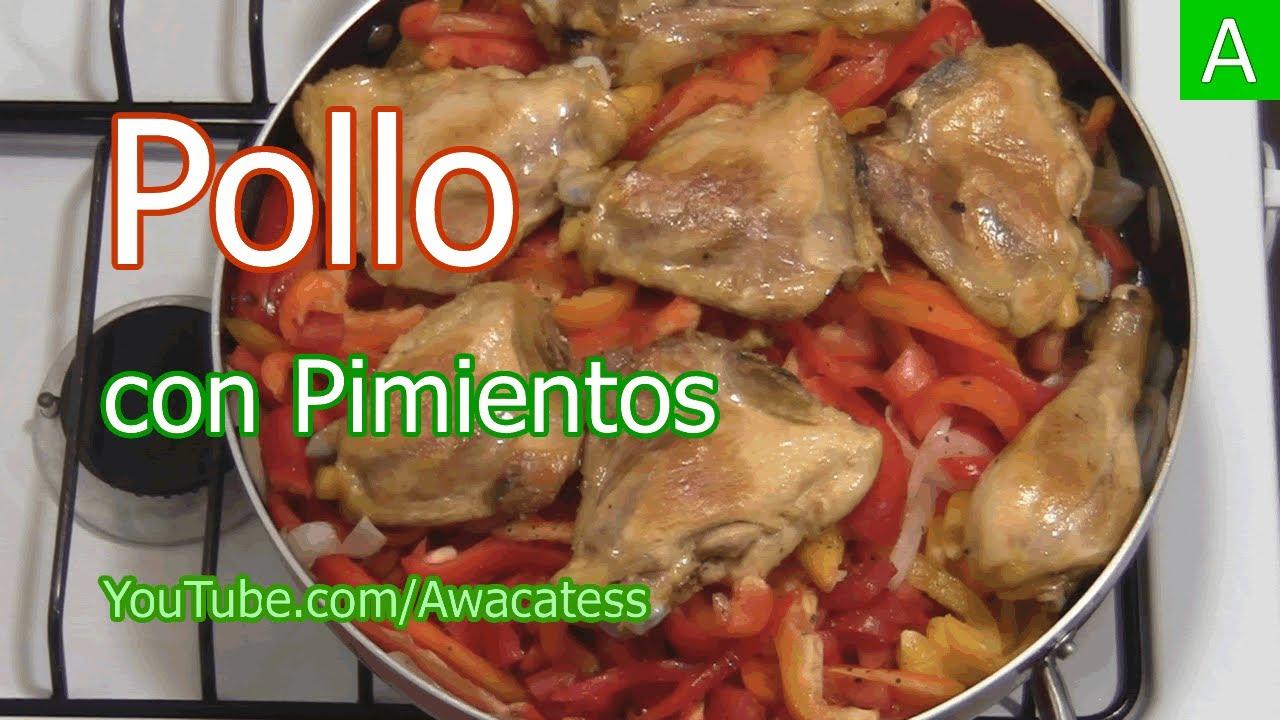 Como hacer pollo con pimientos morrones rojos verdes for Comidas faciles de preparar