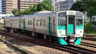 1200形(1B)1500形(1B)7:30発鳴門線各駅停車鳴門行き発車