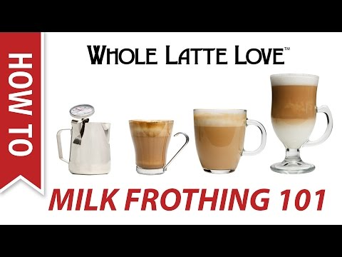 Milk Frothing for Beginners