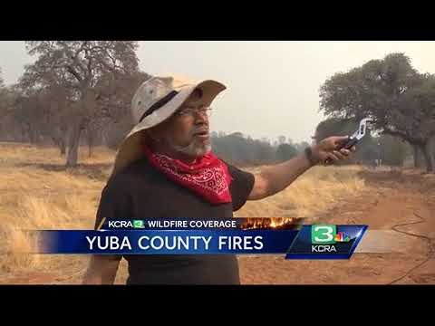 Dozens of homes destroyed as Yuba County wildfire continues to burn