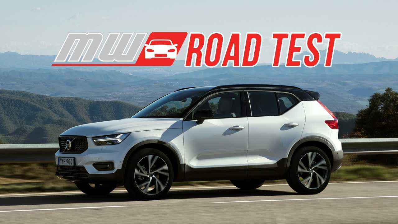 2019 volvo xc40 road test youtube. Black Bedroom Furniture Sets. Home Design Ideas