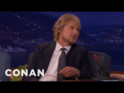 Owen Wilson Is Learning To Be Happy With Middle Age  - CONAN on TBS