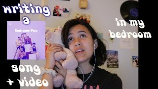 making a bedroom pop song and video in 24 hours!!