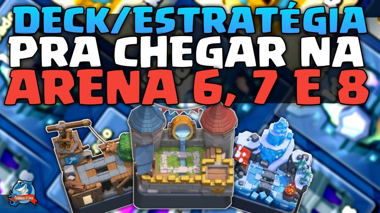 melhor deck para arena 6 do clash royale