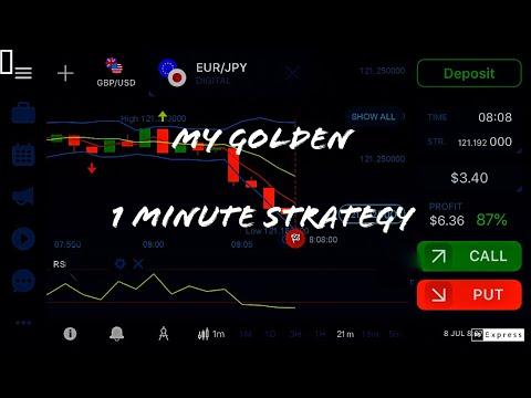 Binary options rsi 1 minute strategy youtube