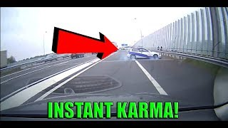 Best of Semi-Trucks & Cars Brake Checked Gone Wrong (Insurance Scam) and Road Rage - INSTANT KARMA