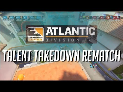 OWL Talent Takedown - Round 2! Spectator Camera Topdown View with Atlantic Comms