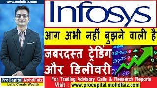 Infosys आग अभी नहीं बुझने वाली है जबरदस्त ट्रेडिंग और डिलीवरी | Latest Share Market Tips