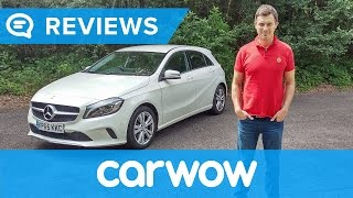 mercedes a class 2017 hatchback review   mat watson reviews