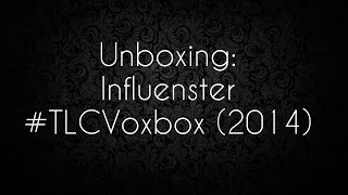 Influenster Voxbox Unboxing: #TLCVoxbox - June 2014 (and how to join!) Thumbnail