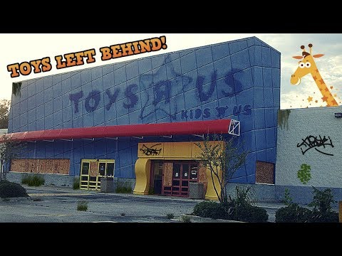 Abandoned Toys R Us With Toys Left Behind End Of An