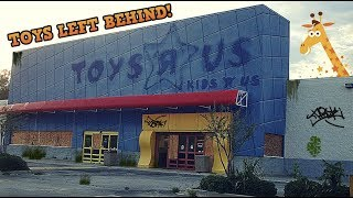 Abandoned Toys R Us   With Toys Left Behind! (end Of An Era)