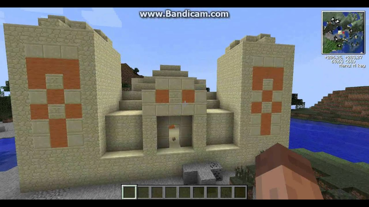 Build Sand Castle Minecraft - Year of Clean Water