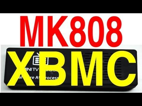 XBMC on MK808 Android Mini TV Stick