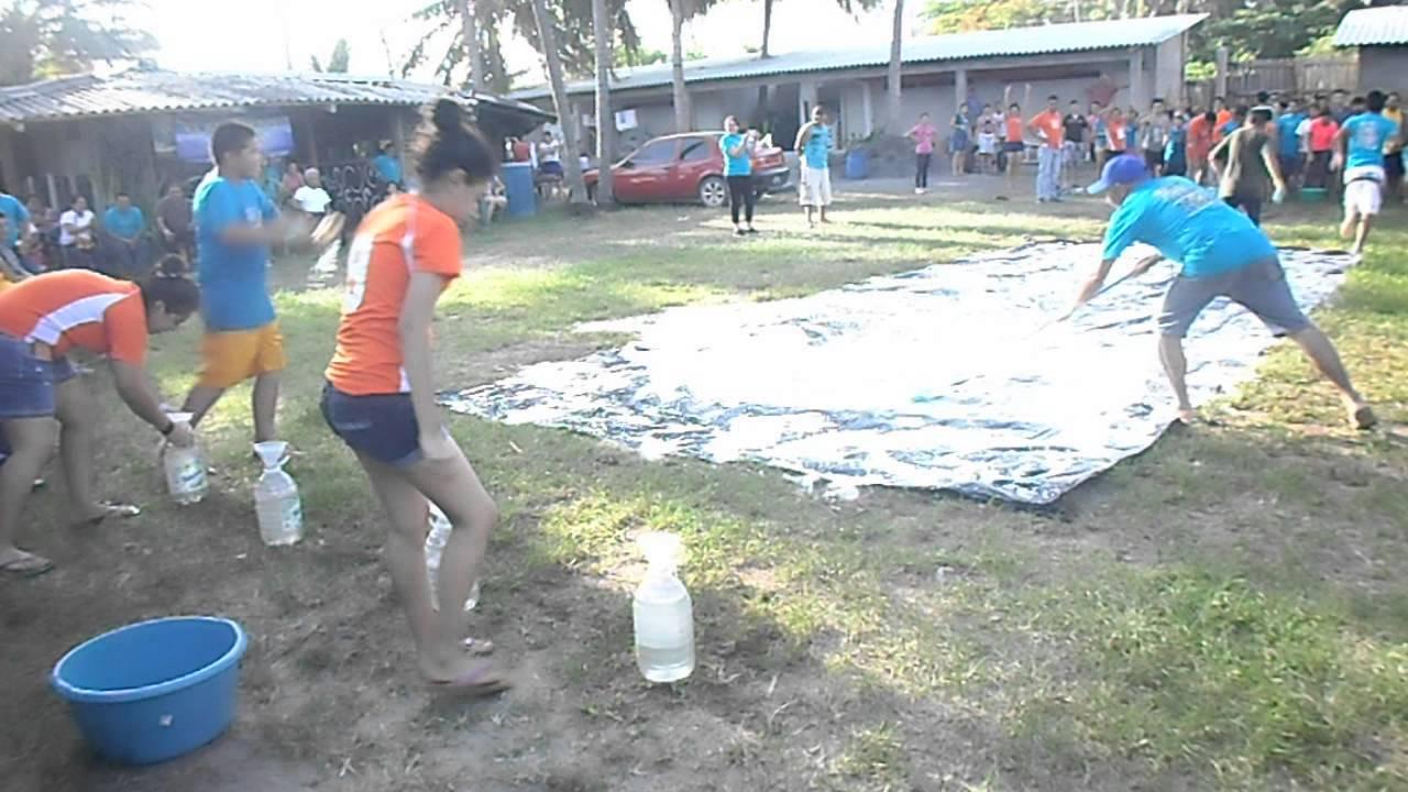 Juegos Para Campamentos Juveniles La Esponja Youtube