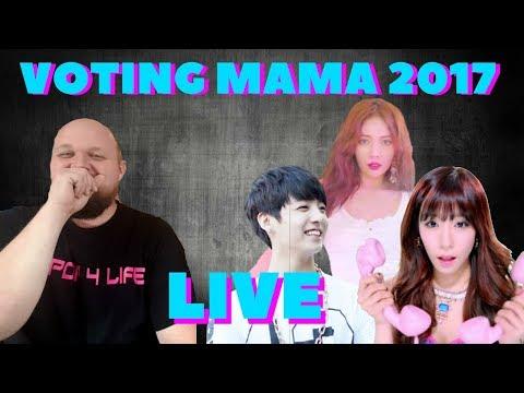 LIVE KPOP  MAMA 2017 VOTING BABY !!!