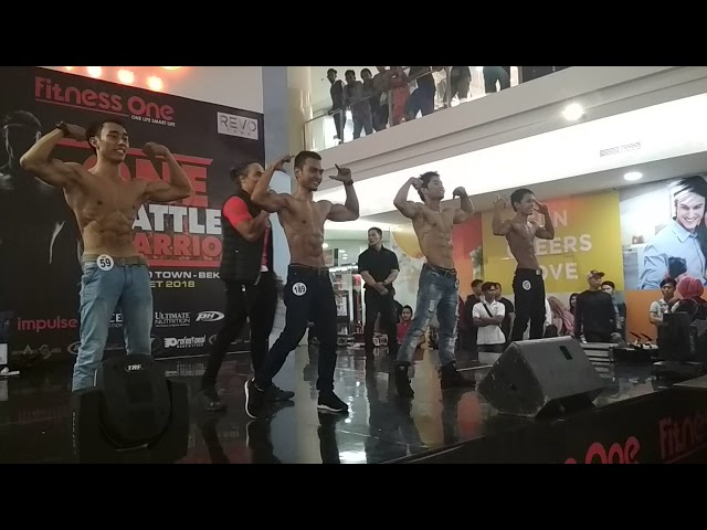 Body Contest One Battle Warior 2018 Revo Town Youtube