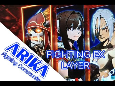 2017 Arika S Project Is Real Not April Fool Fighting Ex Layer Youtube
