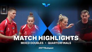 Csaba Andras/Leila Imre vs Kirill Skachkov/Olga Vorobeva | WTT Contender Budapest 2021 (1/4)