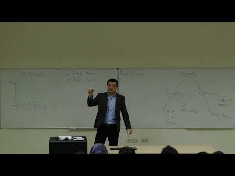Computational Physics Lecture 7, Open Methods for Root Finding.