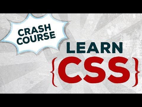 Learn CSS - Crash Course #1