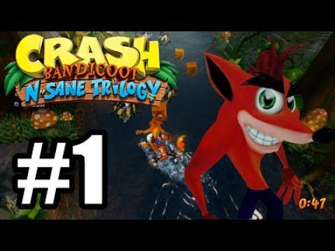 Crash Bandicoot N. Sane Trilogy - Crash 2 PS4 #1 - Childhood!