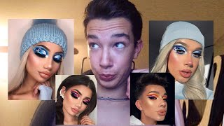 james charles steals makeup look...again